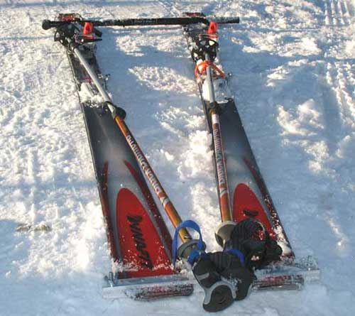 Rescue Sled, Front View