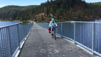 Trail of the Coeur d' Alenes Bike Tour