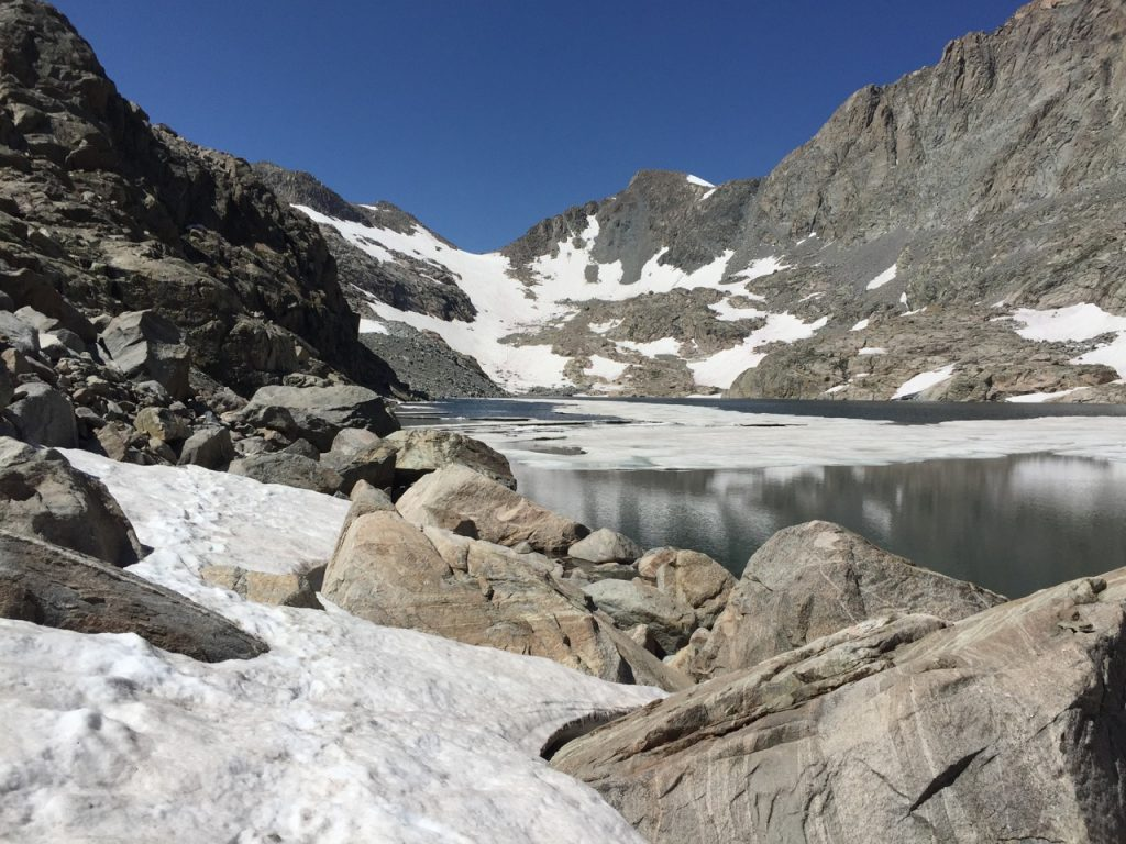 Wind River High Route - Alpine Lakes and Pass