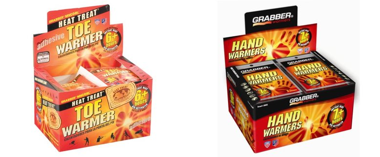 Grabber Hand and Toe Warmers